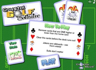 Карточная игра гольф играть онлайн