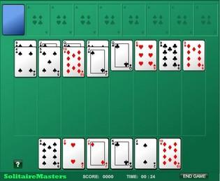 Играть в карты бесплатно без регистрации на весь экран девочка играет в карты